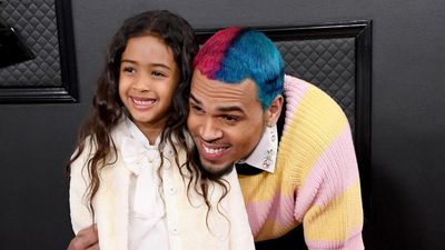 Chris Brown among stars taking kids to Grammys