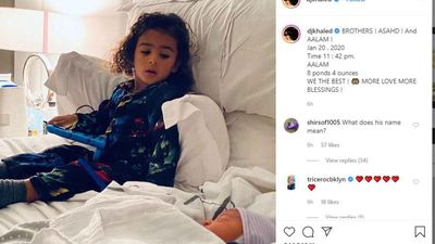 DJ Khaled shares baby photo