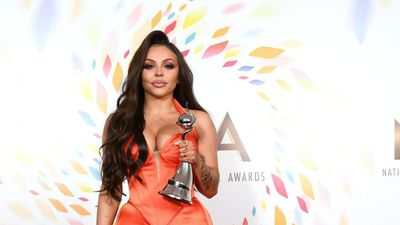 Jesy Nelson broke down in tears after NTA win