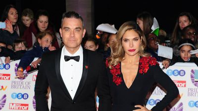 Robbie Williams and Ayda Field's Valentine's Day baby surprise!