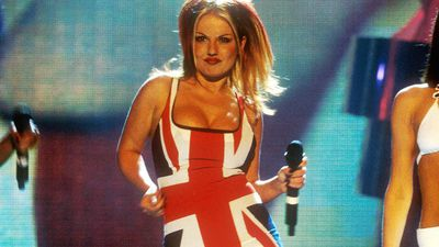 Geri Horner wins most iconic BRIT Award outfit