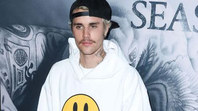 Justin Bieber appears at Kanye West's Sunday Service