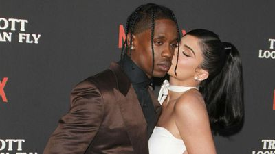 Exes Kylie Jenner and Travis Scott take Stormi out