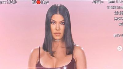 Kourtney Kardashian returns to filming Keeping Up with the Kardashians