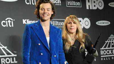 Harry Styles 'borders on an out-of-body experience' working with Stevie Nicks