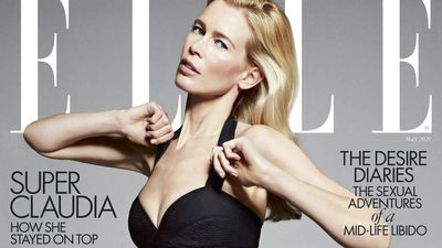Claudia Schiffer hired security guards for her underwear