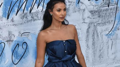 Maya Jama is 'happy' with her life