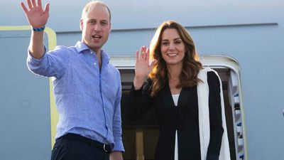 Duke and Duchess of Cambridge make video call to school children