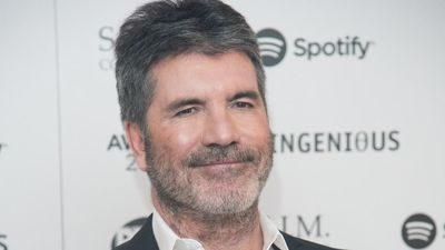 Simon Cowell learning basic school subjects from his six-year-old son