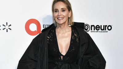 Sharon Stone shows off her bikini body
