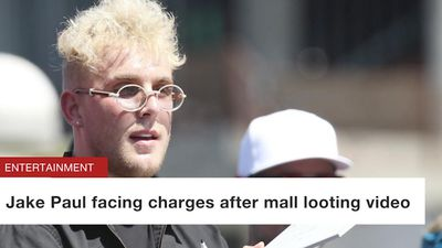 Jake Paul facing charges after mall looting video