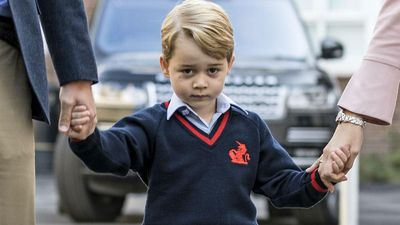 Prince George is 'funny and feisty'