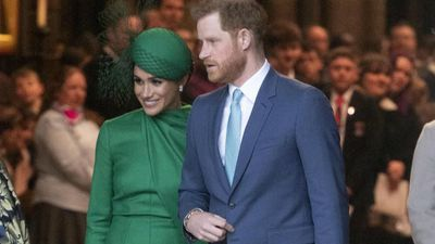 Taking their time: Prince Harry and Duchess Meghan in 'no hurry' to launch Archewell