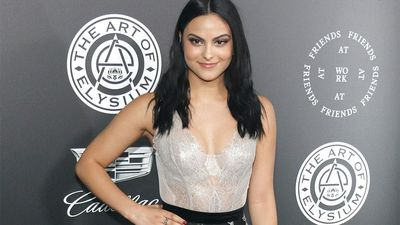 Camila Mendes: 'Make-up is a form of self-expression'
