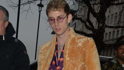 Machine Gun Kelly is mourning the death of his father