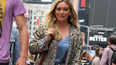 'I'm running for president': Hilary Duff jokes about presidency after Kanye West announcement
