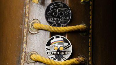 CASHING IT IN: Sir Elton John honoured with commemorative coins