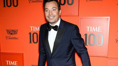 Jimmy Fallon returns to The Tonight Show studio