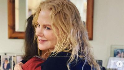 Nicole Kidman has reunited with her mother