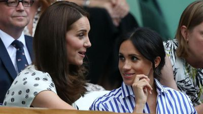 Duchess Meghan brought a gift for Duchess Catherine when they first met