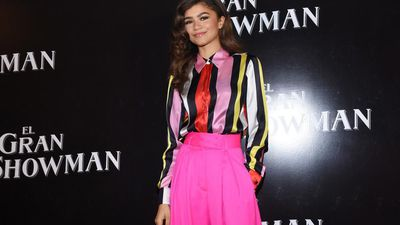 Zendaya believes she puts too much 'pressure' on herself to succeed