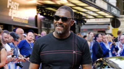 Idris Elba takes part in the UEFA Champions League Launch