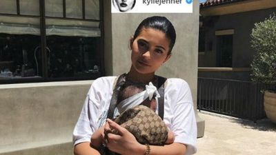 Kylie Jenner says Stormi already loves makeup