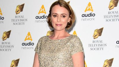 Keeley Hawes' son was caught up in terror attack