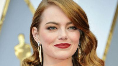 Emma Stone says it was a 'blast' working on 'The Favourite'