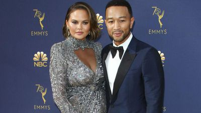 Chrissy Teigen's two-year-old daughter is already a make-up pro