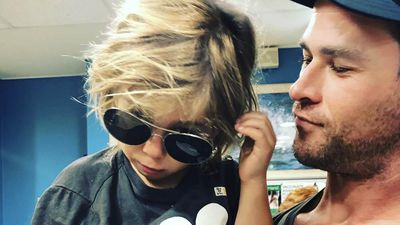 Chris Hemsworth's son rushed to hospital