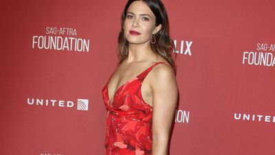 Mandy Moore's low-key bachelorette party