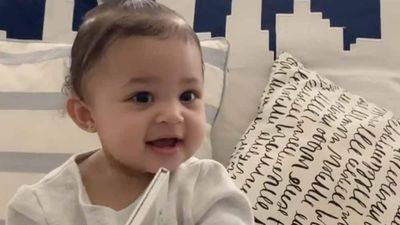 Kylie Jenner attempts to teach Stormi how to say Kylie Cosmetics