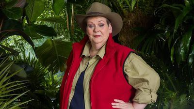 Anne Hegerty takes part in I'm A Celebrity Bushtucker Trial