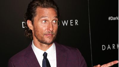Matthew McConaughey's film role was 'sad country song'