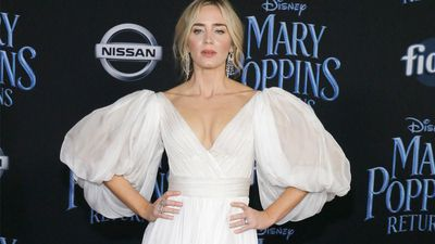 Emily Blunt made her father cry with Mary Poppins performance
