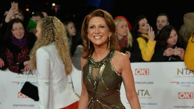 Bonnie Langford representing relatives of knife crime victims at NTAs