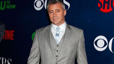 Matt LeBlanc got asked if he was Joey Tribbiani's dad