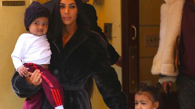 Kim Kardashian West wants to trademark kids' names
