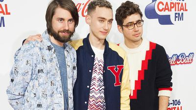 Years and Years' 'stressful' Brits entrance