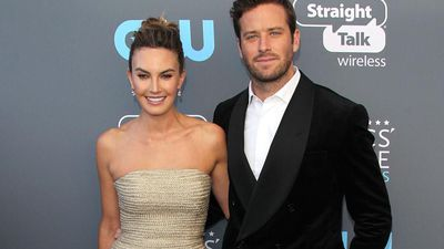 Armie Hammer feels lucky to have Elizabeth Chambers