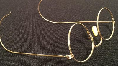 John Lennon's golden Hibo glasses to be auctioned