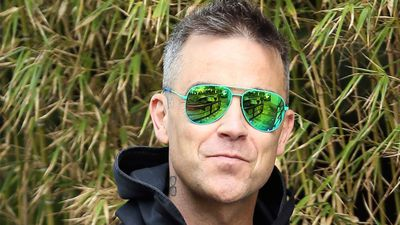 Robbie Williams' spontaneous recording