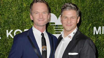 Neil Patrick Harris had Oprah Winfrey over for pizza