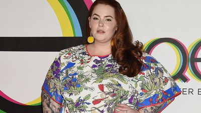 Tess Holliday wishes she loved body '100 pounds ago'
