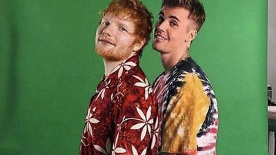 Justin Bieber and Ed Sheeran share preview of new song IDC