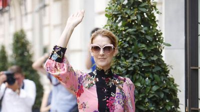 Celine Dion shocked when baby son was on TV