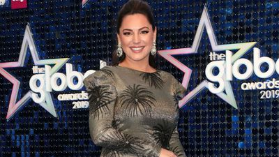 Kelly Brook doesn't speak to any of her ex-boyfriends.