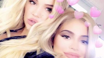 Kylie Jenner and Khloe Kardashian share clips of Stormi and True's play date
