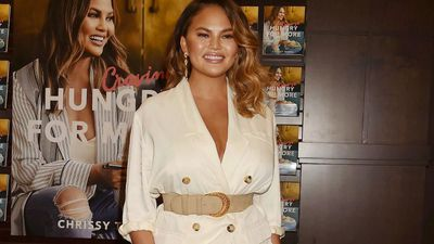 Chrissy Teigen's sensitive skin